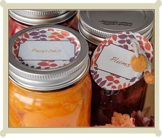 Lots of cute canning labels printable pdf format from food forumfinder Images