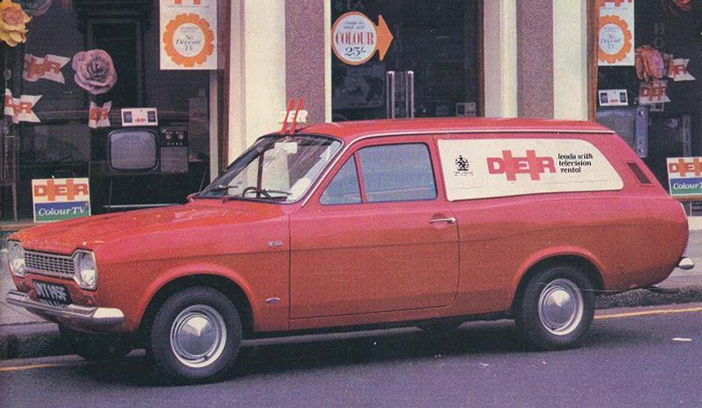 DER Television Rental Van Commercial vehicle, Classic