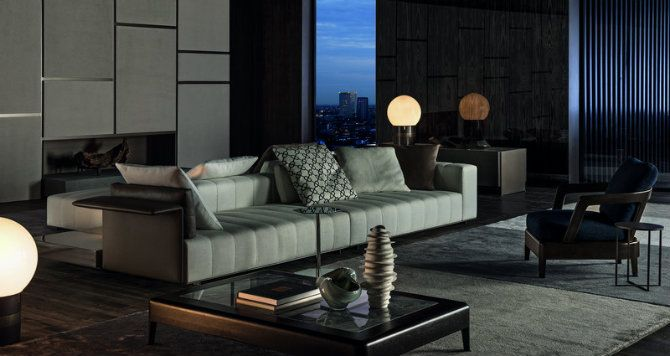 LIVING ROOM IDEAS FROM SALONE DEL MOBILE 2016 BY MINOTTI