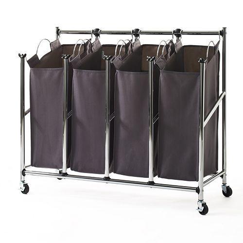 Neatfreak Everfresh Quad Laundry Sorter Laundry Sorter Wicker