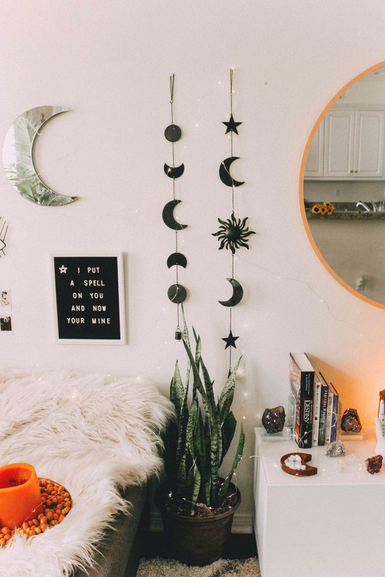 Celestial Sun And Moon Wall Hanging Decor In 2020 Cute Room Decor Bedroom Vintage Bedroom Decor