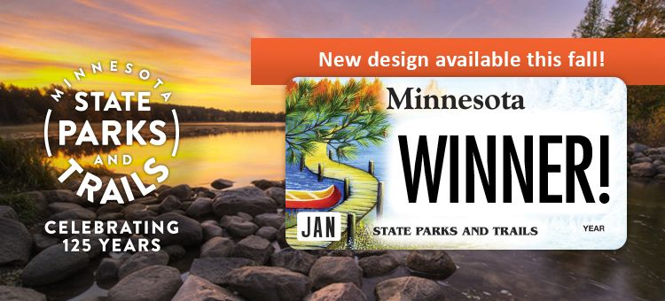 Minnesota State Parks and Trails Specialty License Plate