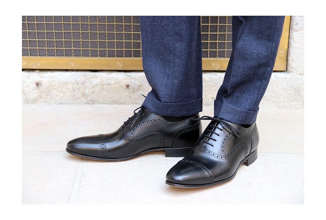 443862eab7a7 Chaussure ville homme Richelieus Albington - Bexley