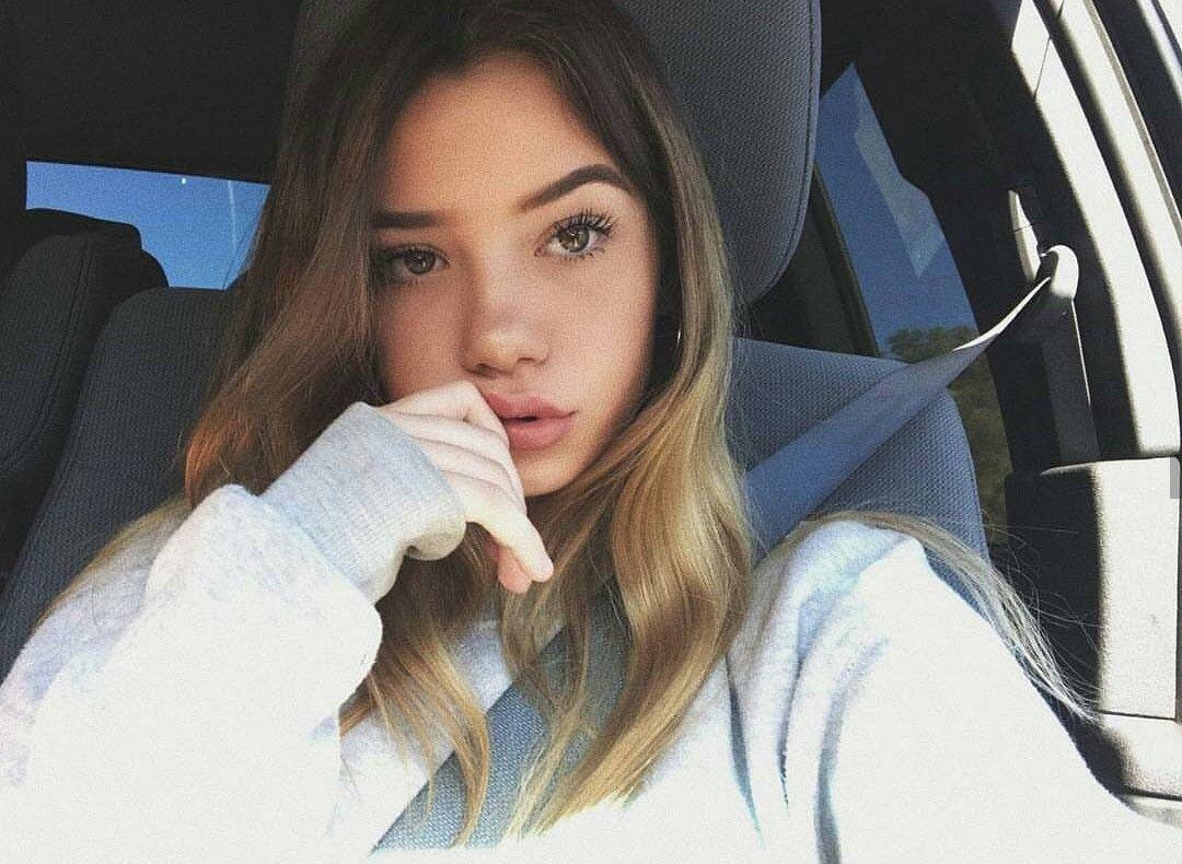 Cute brunette model 13