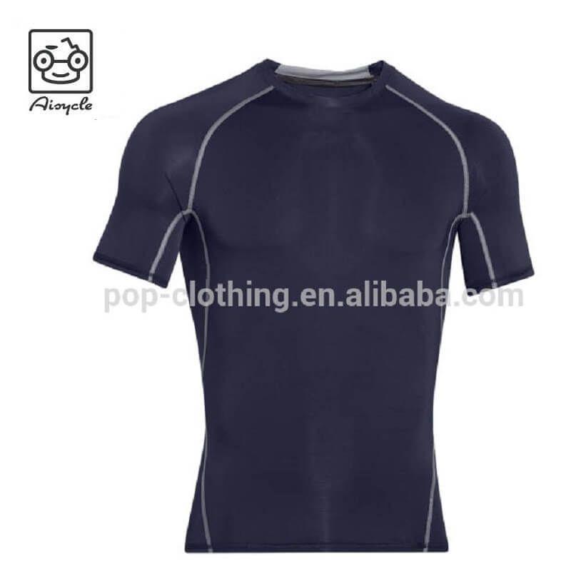 bdfe45d1 Custom Fitness Apparel Young Men T shirt Gym Running Wear - Aisycle Jacket