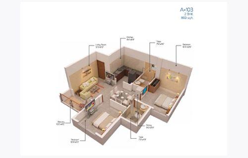 Nexterra Phase I by PS SRIJAN DEVELOPERS LLP |2 BHK Flats| 3 BHK Flats | Chennai| Magicbricks
