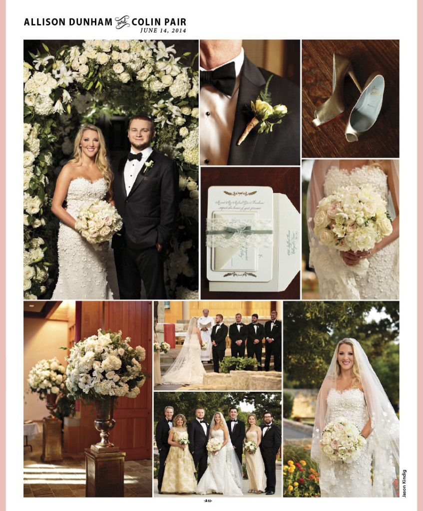 Allison + Colin, As Featured In Brides Of North Texas