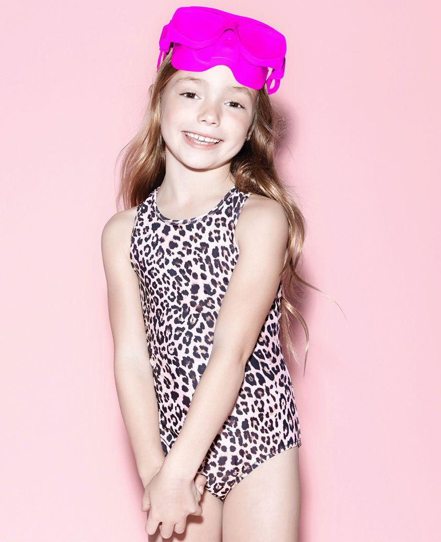 Baby Girl's Leopard One Piece - Bardot Junior