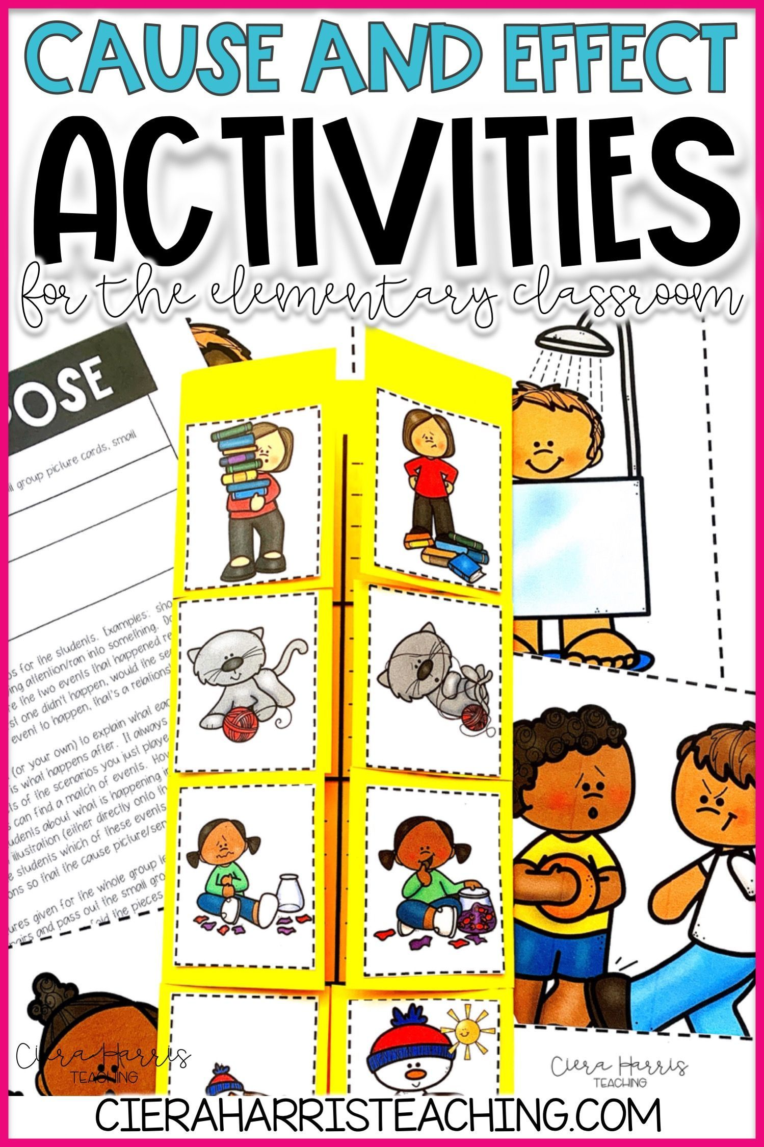 Cause And Effect Activities For The Elementary Classroom