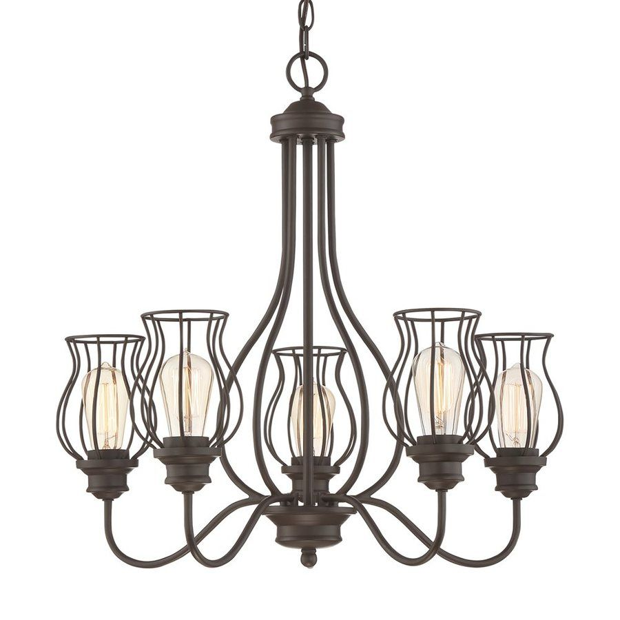 Quoizel baroness 25 in 5 light western bronze cage chandelier quoizel baroness 25 in 5 light western bronze cage chandelier arubaitofo Image collections
