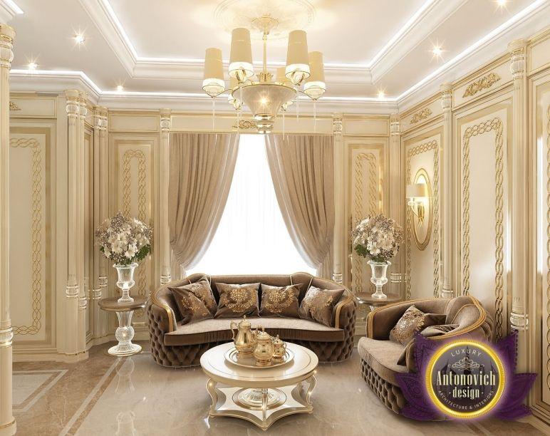 Villa Interio Antonovich Home Interior Design Elegant Residences Rich Luxury Mansions