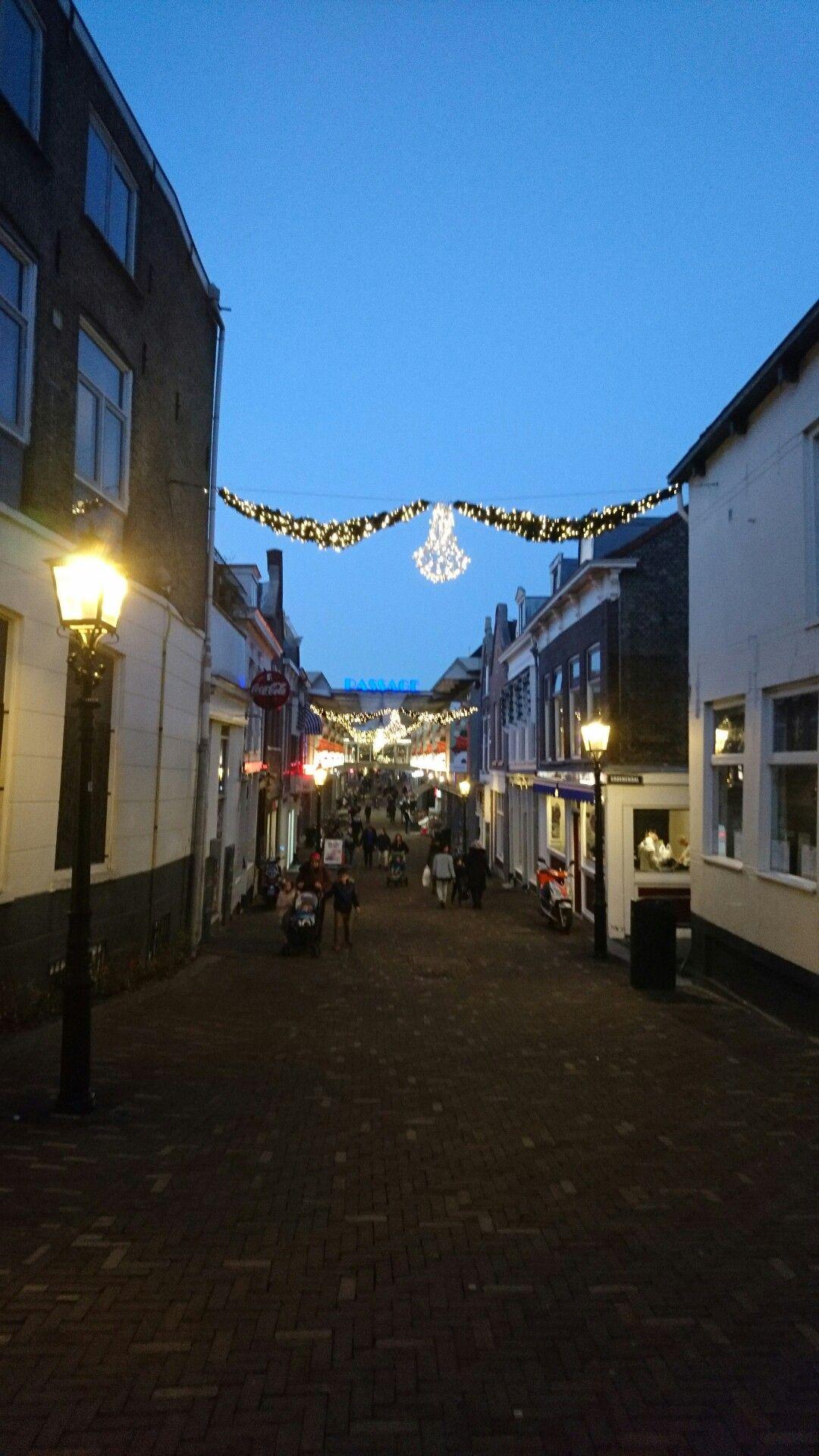 Afrol hoogstraat richting Broersveld, december 2016 Schiedam, mypic