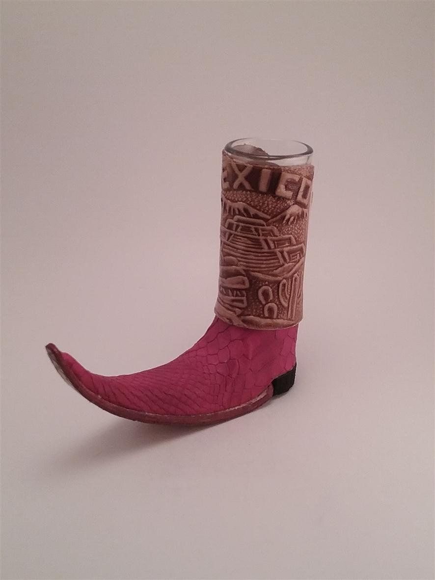 Boot Shotglass By Mexicanlgear On Etsy Boots Red Boots Bar Decor