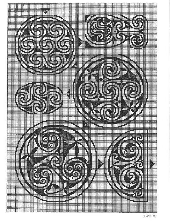 Gallery.ru / Фото #29 - Celtic Charted Designs - thabiti | Cross ...