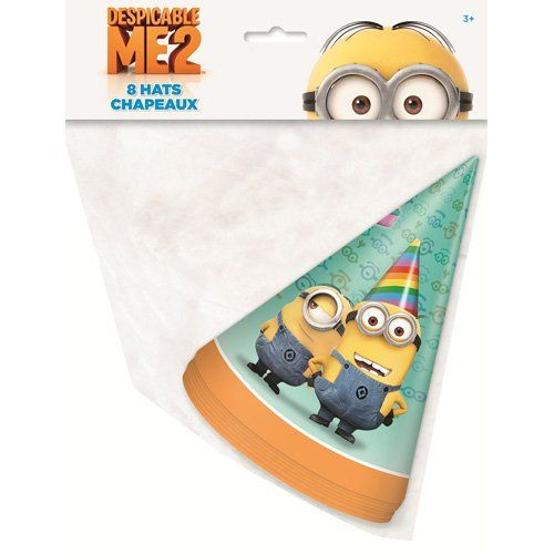 Despicable Me 2 Party Hats [8 Per Pack] Despicable Me 2,http://www.amazon.com/dp/B00DIFJXGG/ref=cm_sw_r_pi_dp_jazotb12AHCSJ4E1