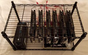 How to build cryptocurrency rig