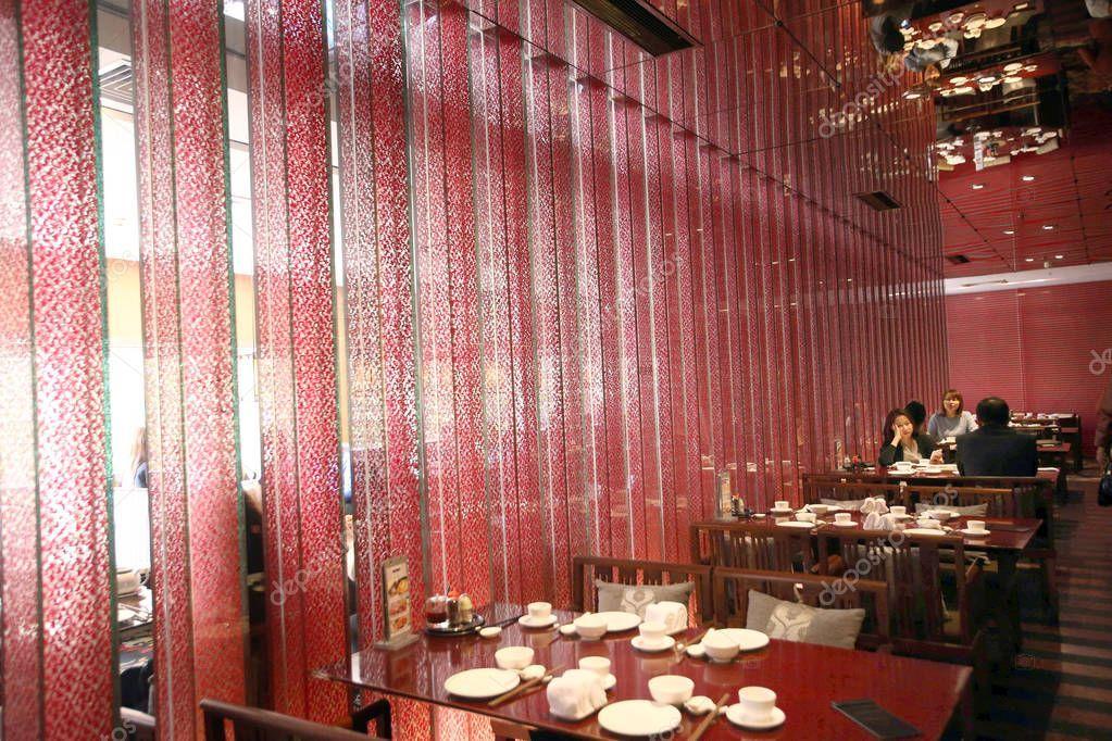Customers enjoy meals crystal jade restaurant shanghai
