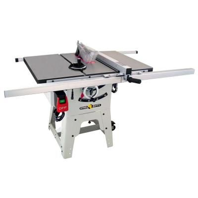 Steel City 10 In Cast Iron Contractor Table Saw 35990c The Home