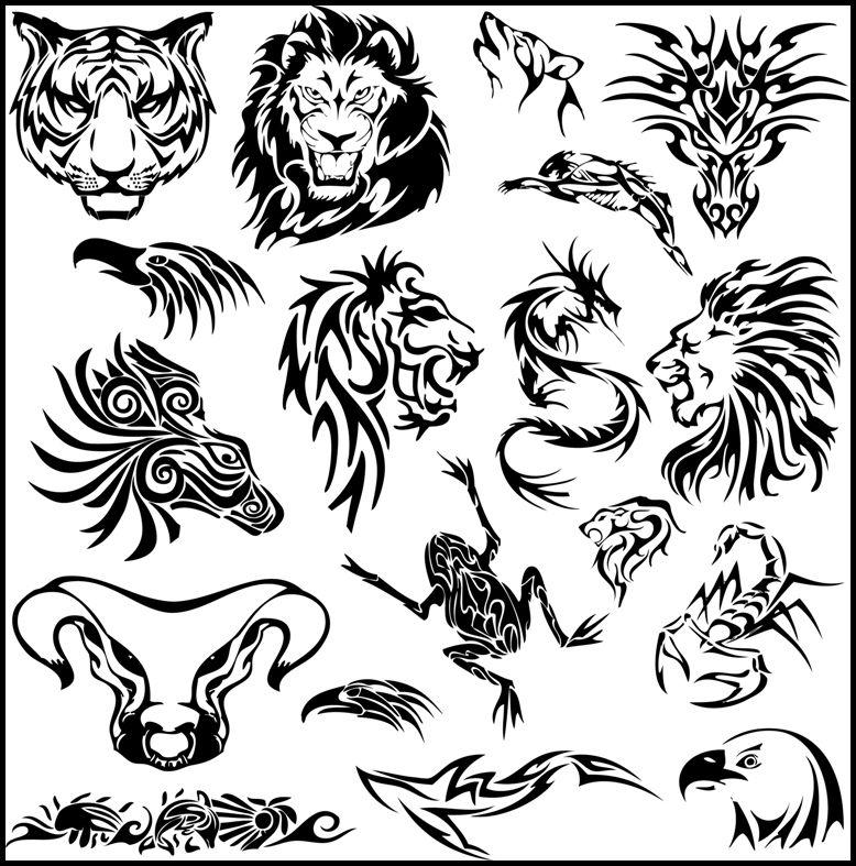 Tribal Animal Tattoos Meanings Tribal Animal Tattoos Tribal Tattoos Tribal Animals