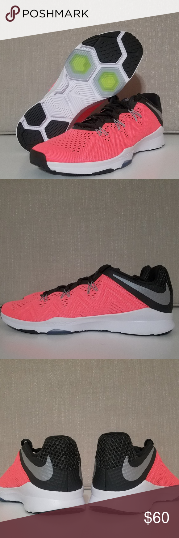 32fb10fed824 Nike Zoom Condition TR Sz8.5 Nike Zoom Size 8.5 Color  Lava glow ...