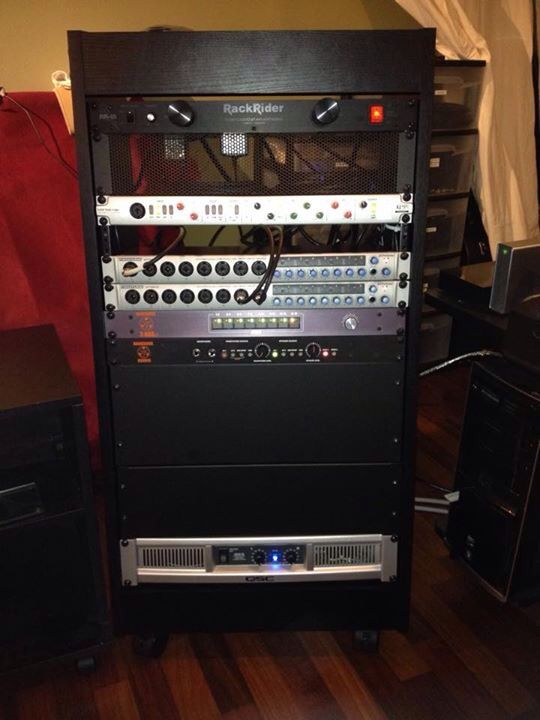 My new rack setup