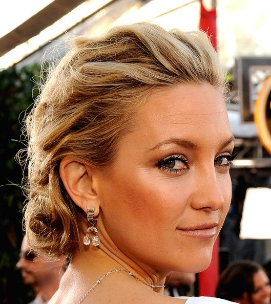 Wedding Hairstyle Ringlets: Kate Hudson Pinned Up Ringlets