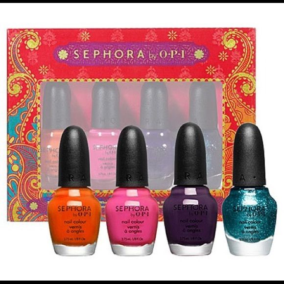 Sephora by OPI Indian Summer mini set Mini set of colors from 2012 ...