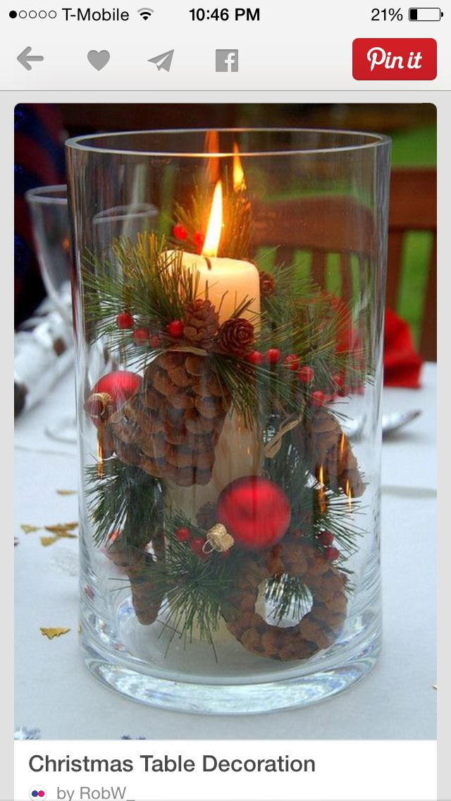 Fabulous Pinecones Candle Balls Tablescapes Christmas Table Download Free Architecture Designs Aeocymadebymaigaardcom