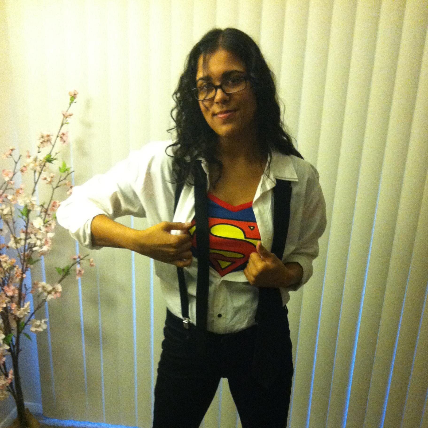 Female Clark Kent/Superman costume.   Stuff   Pinterest   Easy ...