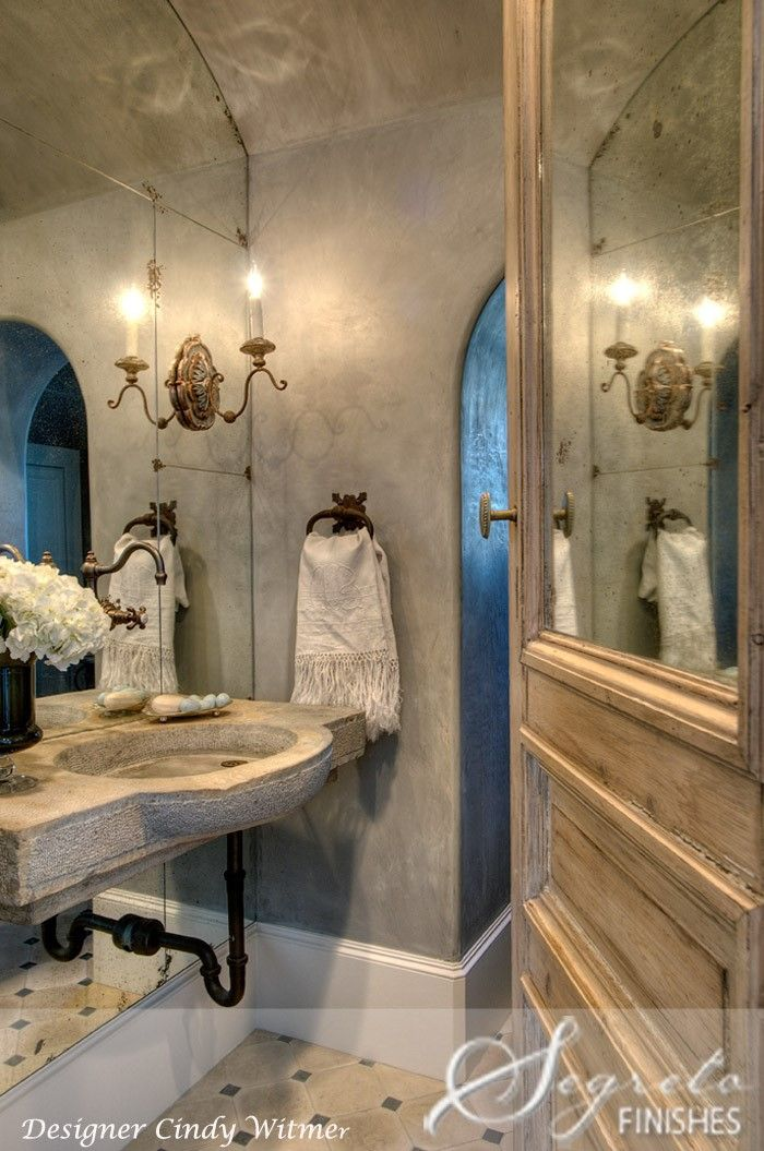 """30 Exquisite And Inspired Bathrooms With Stone Walls: Becoming A """"Blaygreen"""" Believer"""