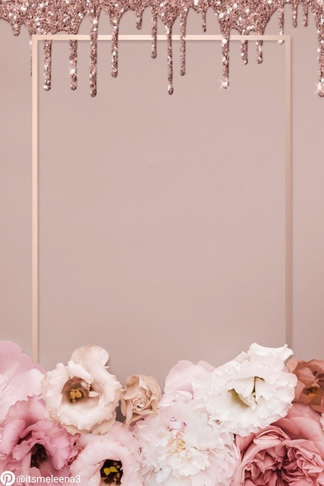 اطار اطارات ثيم ثيمات خلفية خلفيات زهري وردي لامع برونزي زهور بطاقة بطاقات مفرغة تصميم تصاميم Flower Frame Pastel Quotes Hijab Wedding Dresses