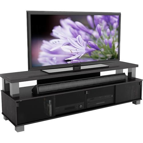 Corliving Bromley Wooden Tv Stand For Tvs Up To 95 Ravenwood Black B 003 Rbt Best Buy Tv Stand Wooden Tv Stands Corliving Best buy tv stands on sale