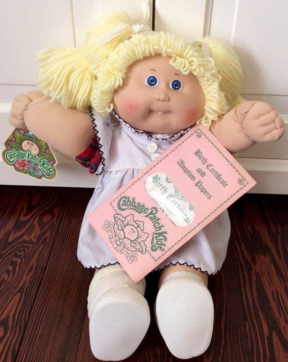 1985 Cabbage Patch Kids Josselyn Kasey Doll Etsy Cabbage Patch Kids Kids Cabbage Patch