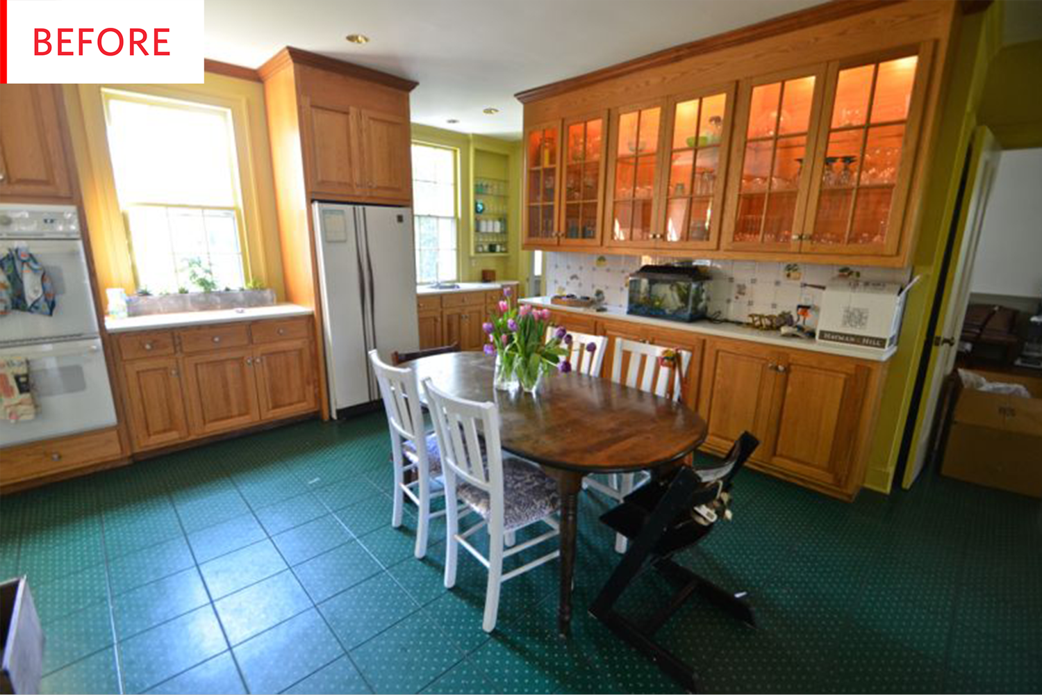 Before And After Dramatic Renovation Free Kitchen