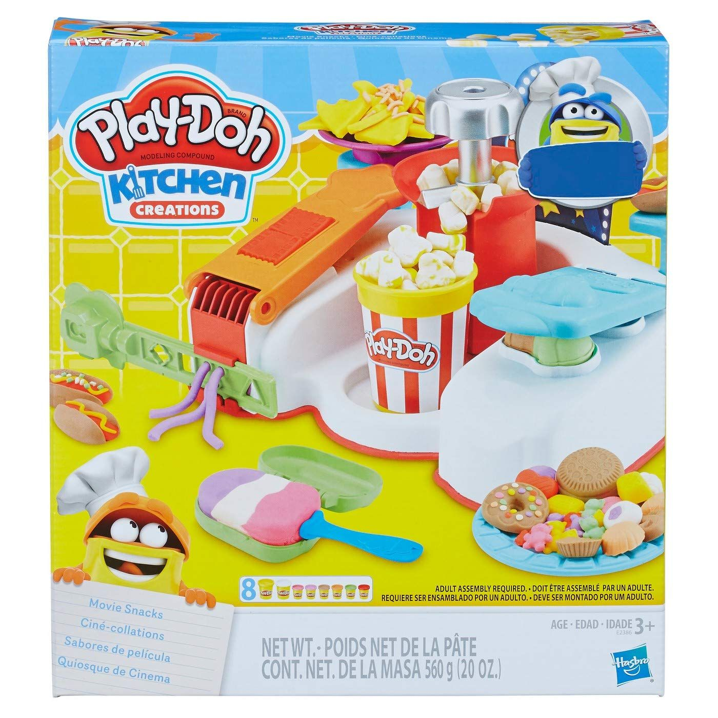 Play Doh Kitchen Creations Movie Snacks Play Doh Kitchen Play Doh Snack Set