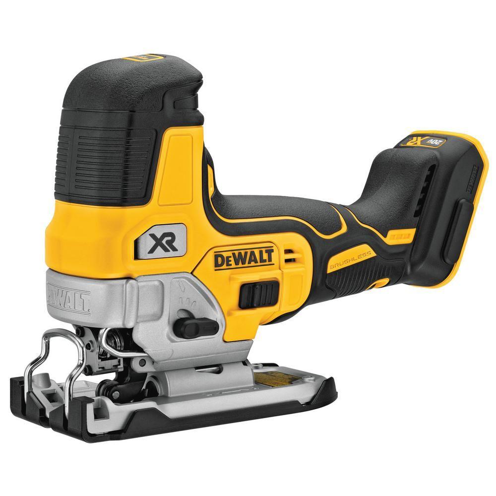 Dewalt 20 Volt Max Cordless Body Grip Jig Saw Tool Only Dewalt Power Tools Dewalt Tools Tools