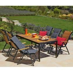 Photo of Garden chair Boston (5 positions, Jutlandia®) Danish bed storage