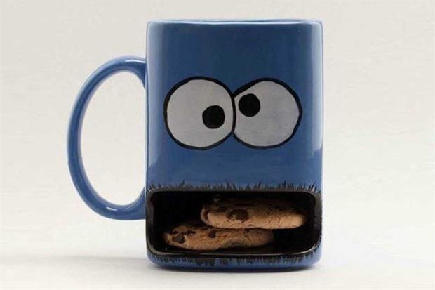 Objetos locos para el desayuno  Una taza ideal para los más pequeños de la familia, para tomar algo calentito y mantener la temperatura de las galletitas