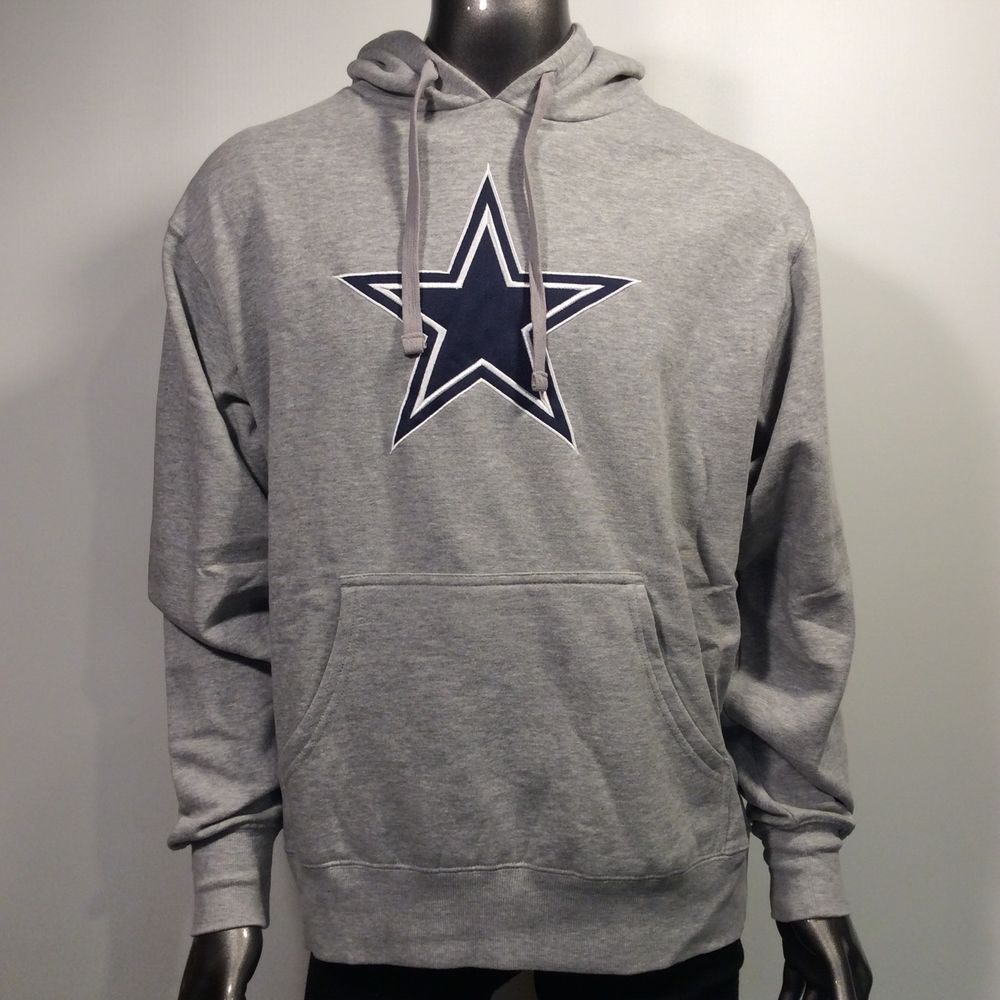 New Era grey NFL Dallas Cowboys Two Tone Pop Hoodie