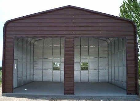 Metal Garage Insulation Metal Garage Buildings Metal Building Homes Garage Building Plans