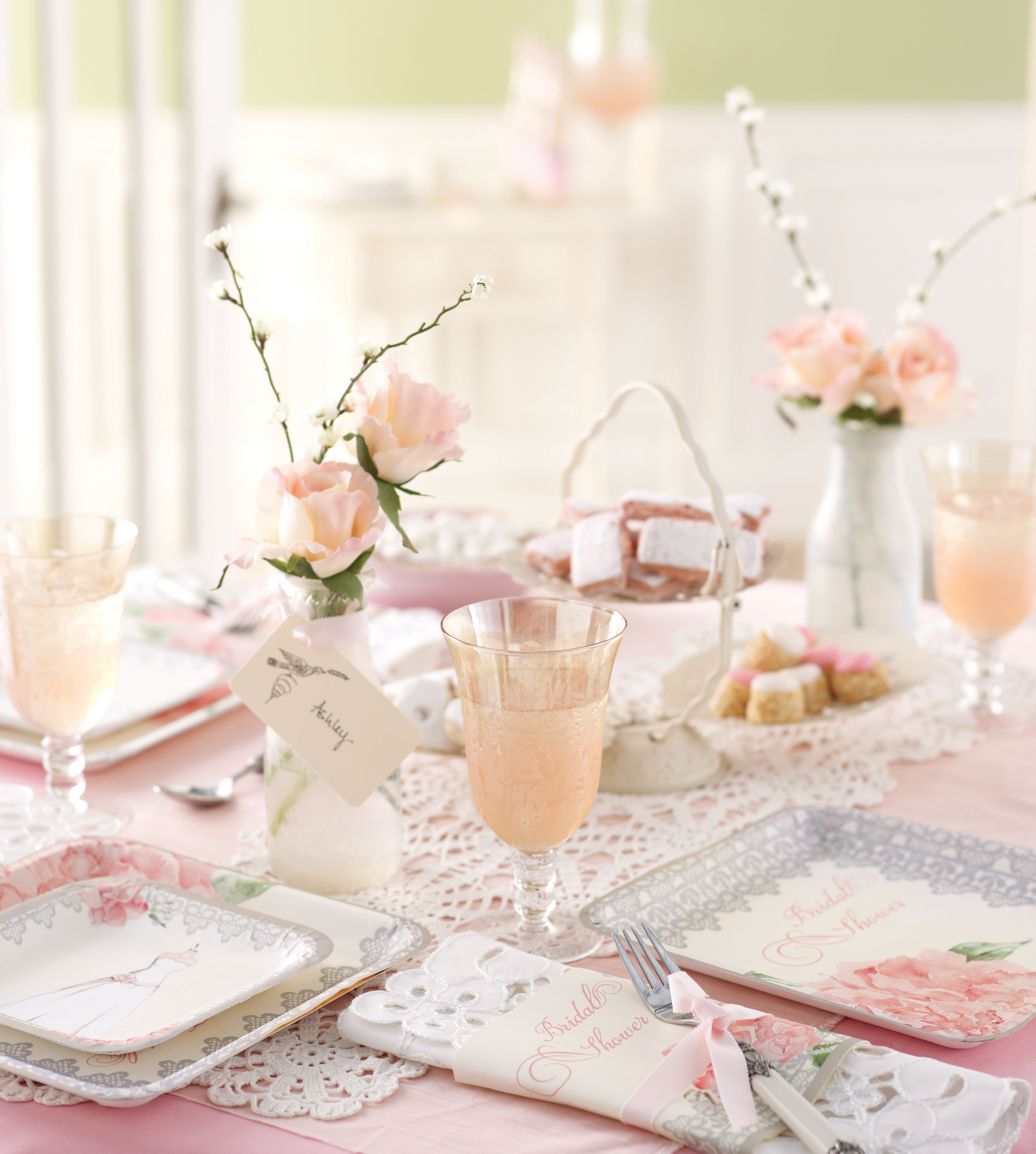 Tabletop For Bridal Shower
