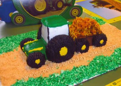 Coolest Ever Farming Tractor Cakes and Decorating Tips Tractor