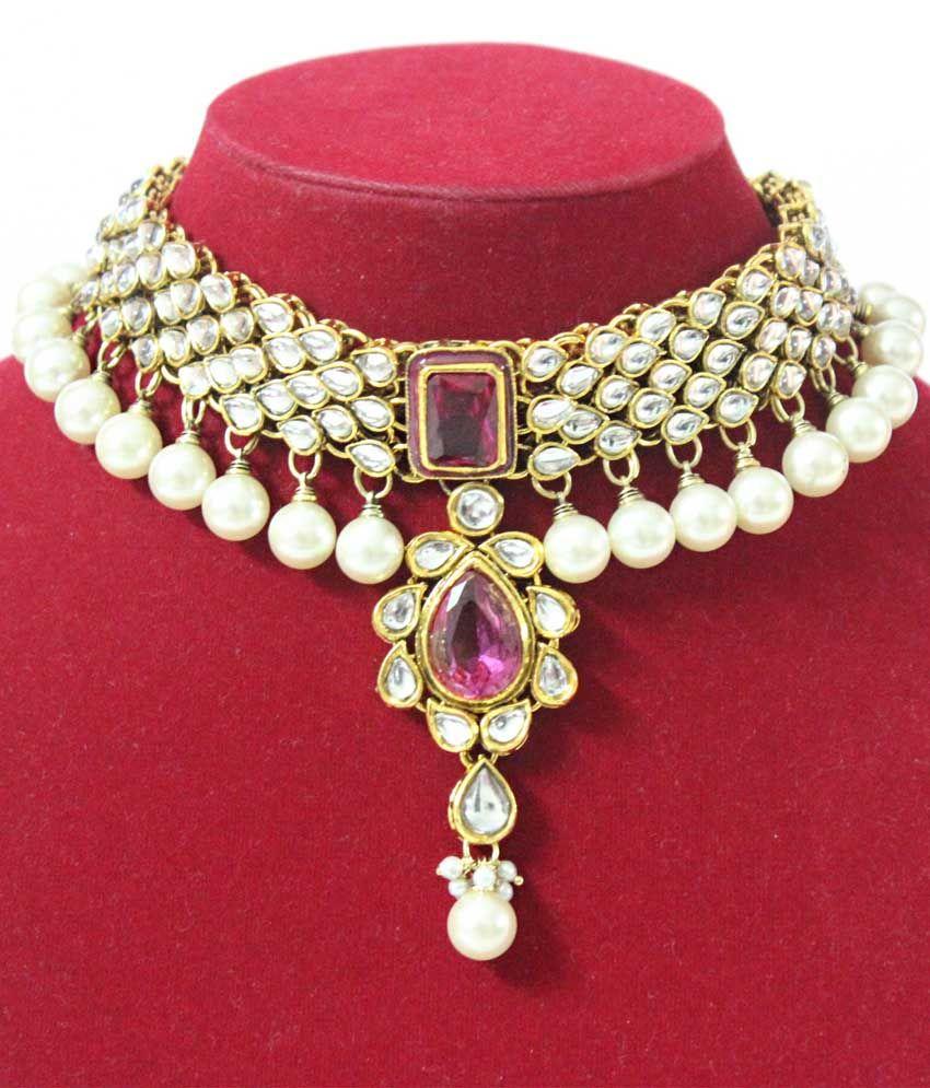 Kundan jewellery buscar con google antique jewlery art pinterest