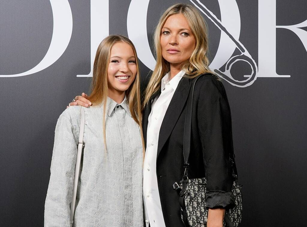 Kate Moss & LookAlike Daughter Lila Are the Chicest Duo