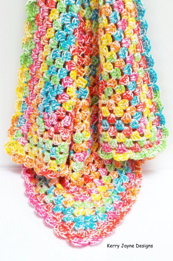 TOOT SWEETS Crochet Blanket Pattern by KerryJayneDesigns