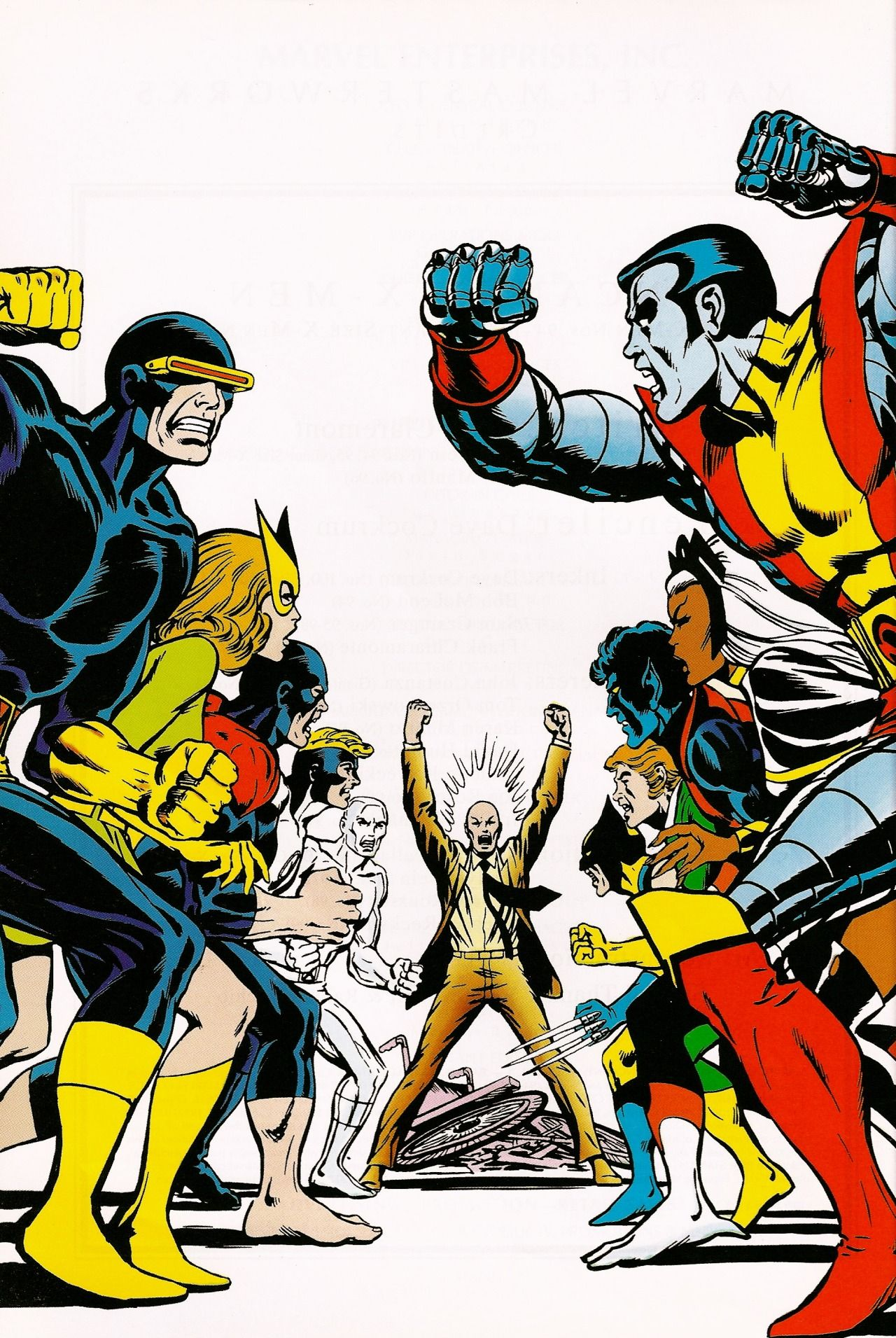 A R C H I V E Rockofeternity X Men Vs X Men Dave Cockrum Comics X Men Classic Comics