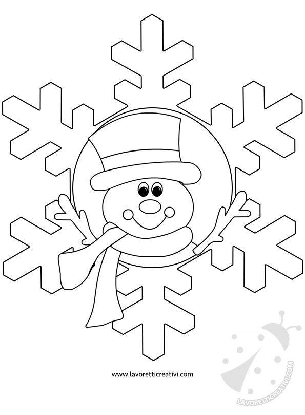 Addobbi inverno scuola3 disegni da colorare natalizi for Addobbi natalizi per finestre scuola primaria