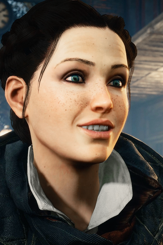 Evie Frye Face - Save file at Fallout 4 Nexus - Mods and
