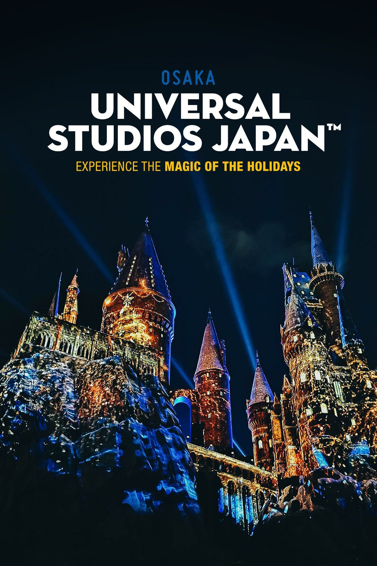 Experience the magic of the holidays at universal studios