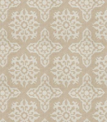 Eaton Square Print Fabric-Minimal/Flax
